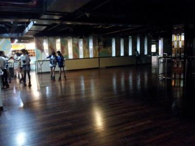 今天是来连云港第一次溜冰,好杯具!