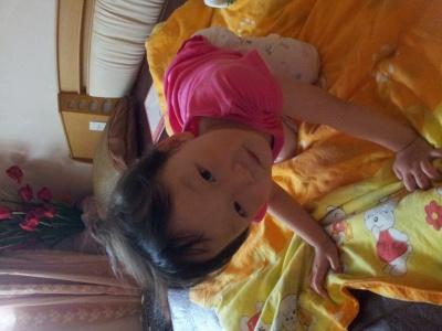 可爱的紫涵,五岁,第一个暑假!