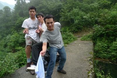 这次是我和好友小菲菲和小猫一起去走微杭古…
