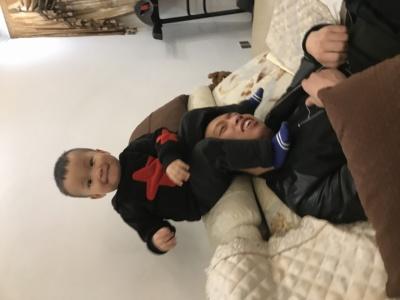 好友磊和他可爱的孩子