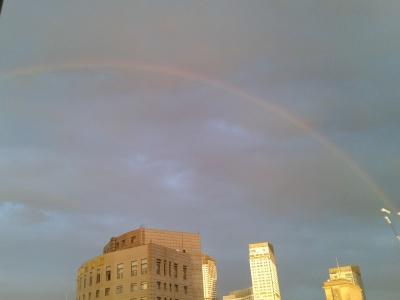 用彩虹来纪念这个新发现的软件,据说看到彩…
