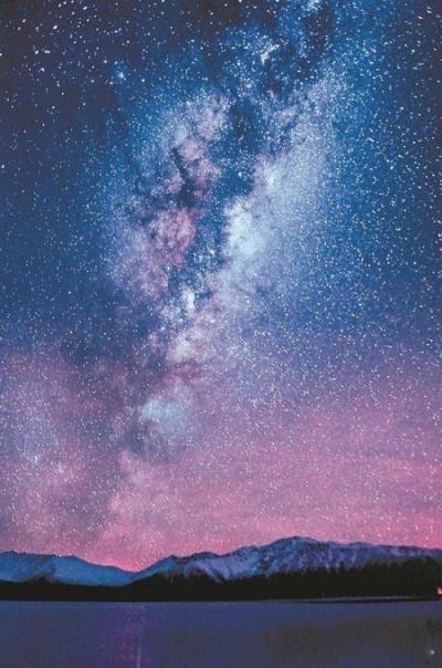 好漂亮的星空啊!