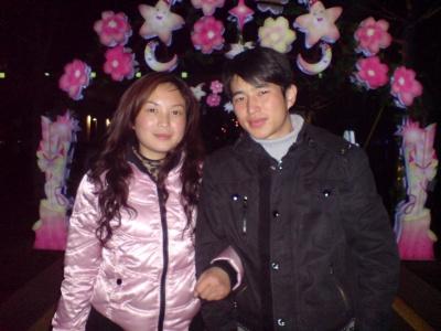 春节回到湖洲和家人一起过,和家人一起去长…